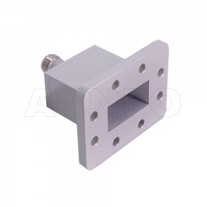 159WECAN Endlaunch Rectangular Waveguide to Coaxial Adapter 4.9-7.05GHz WR159 to N Type Female
