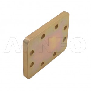 159WS WR159 Waveguide Short Plates 4.9-7.05GHz with Rectangular Waveguide Interface