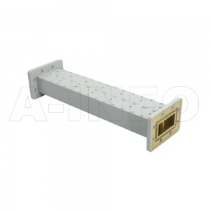 187LB-BP-4760-4840_DMDM WR187 Waveguide Band Pass Filter 3.95-5.85Ghz with Two Rectangular Waveguide Interfaces