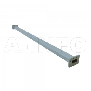 187WAL-1200 WR187 Rectangular Straight Waveguide 3.95-5.85GHz with Two Rectangular Waveguide Interfaces