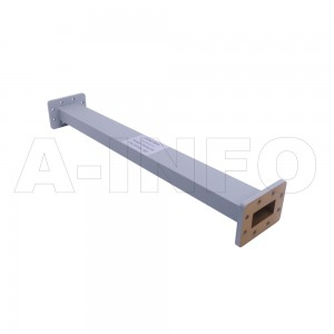 187WAL-500 WR187 Rectangular Straight Waveguide 3.95-5.85GHz with Two Rectangular Waveguide Interfaces
