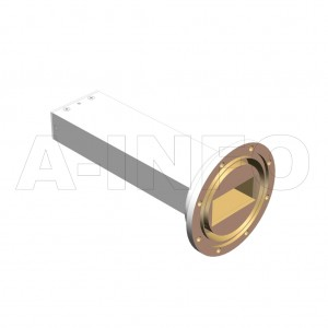 187WPL_AE WR187 Waveguide Precisoin Load 3.95-5.85GHz with Rectangular Waveguide Interface