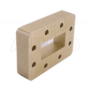 187WSPA14 WR187 Wavelength 1/4 Spacer(Shim) 3.95-5.85GHz with Rectangular Waveguide Interfaces