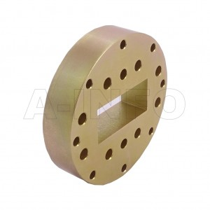 187WSPA14_P0 WR187 Wavelength 1/4 Spacer(Shim) 3.95-5.85GHz with Rectangular Waveguide Interfaces