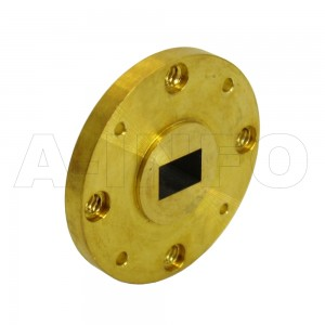 19-FUGP500_Cu WR19 Waveguide Flange 40-60GHz with Rectangular Waveguide Interface