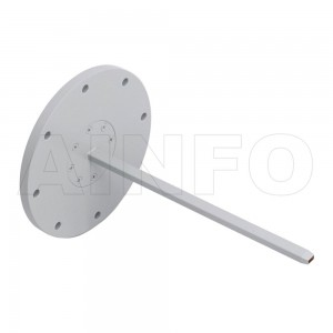 19EWG Open Ended Waveguide Probe 40-60GHz 6dB Gain Rectangular Waveguide Interface
