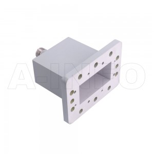 229WECAN_P0 Endlaunch Rectangular Waveguide to Coaxial Adapter 3.3-4.9GHz WR229 to N Type Female