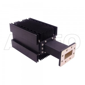 229WHPL2000 WR229 Waveguide High Power Load 3.3-4.9GHz with Rectangular Waveguide Interface