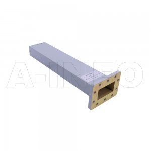 229WMPL40 WR229 Waveguide Low-Medium Power Load 3.3-4.9GHz with Rectangular Waveguide Interface