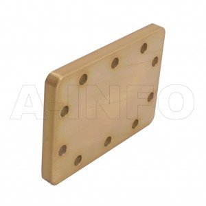 229WS WR229 Waveguide Short Plates 3.3-4.9GHz with Rectangular Waveguide Interface