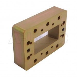229WSPA14 WR229 Wavelength 1/4 Spacer(Shim) 3.3-4.9GHz with Rectangular Waveguide Interfaces