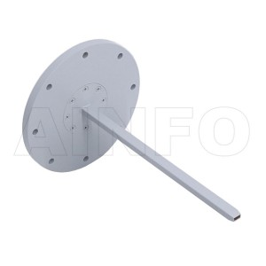 22EWG Open Ended Waveguide Probe 33-50GHz 6dB Gain Rectangular Waveguide Interface