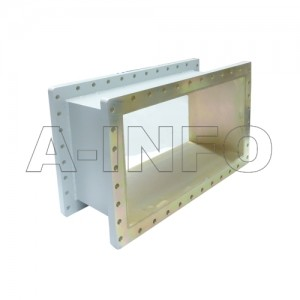 2300WSPA14 WR2300 Wavelength 1/4 Spacer(Shim) 0.32-0.49GHz with Rectangular Waveguide Interfaces