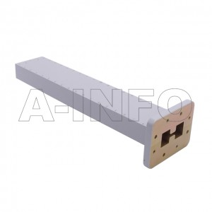 250DRWLPL WRD250 Double Ridge Waveguide Low Power Load 2.6-7.8GHz with Rectangular Waveguide Interface