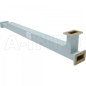 284WC-20_APAPAP WR284 Waveguide High Directional Coupler WC-XX Type E-Plane Bend 2.6-3.95GHz 20dB Coupling with Three Rectangular Waveguide Interfaces