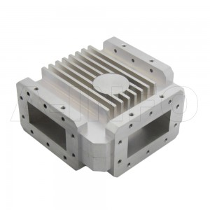 284WCIC-2731-20-1200 WR284 Waveguide Circulator 2.7-3.1Ghz with Three Rectangular Waveguide Interfaces