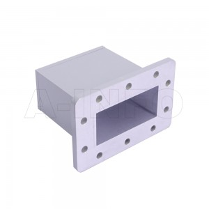 284WECAN Endlaunch Rectangular Waveguide to Coaxial Adapter 2.6-3.95GHz WR284 to N Type Female