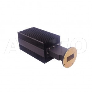 284WHPL2400_AP WR284 Waveguide High Power Load 2.6-3.95GHz with Rectangular Waveguide Interface