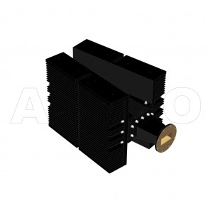 284WHPL5000_AP WR284 Waveguide High Power Load 2.6-3.95GHz with Rectangular Waveguide Interface