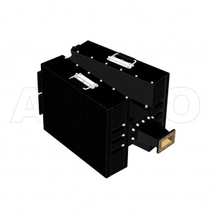 284WHPL5000F_DM WR284 Waveguide High Power Load 2.6-3.95GHz with Rectangular Waveguide Interface