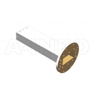 284WPL_P0 WR284 Waveguide Precisoin Load 2.6-3.95GHz with Rectangular Waveguide Interface
