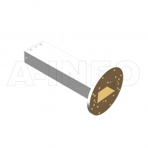 284WPL_PB WR284 Waveguide Precisoin Load 2.6-3.95GHz with Rectangular Waveguide Interface