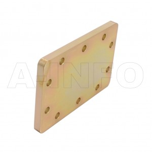 284WS WR284 Waveguide Short Plates 2.6-3.95GHz with Rectangular Waveguide Interface
