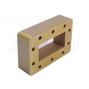 284WSPA14 WR284 Wavelength 1/4 Spacer(Shim) 2.6-3.95GHz with Rectangular Waveguide Interfaces