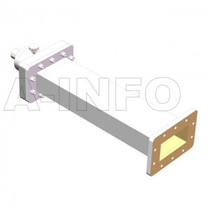 284WSS WR284 Waveguide Sliding Short Plates 2.6-3.95GHz with Rectangular Waveguide Interface