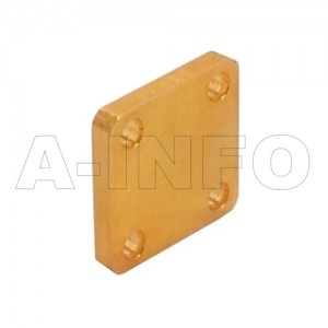 28WS_Cu WR28 Waveguide Short Plates 26.5-40GHz with Rectangular Waveguide Interface