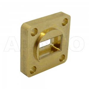 34-FBP260 WR34 Waveguide Flange 22-33GHz with Rectangular Waveguide Interface