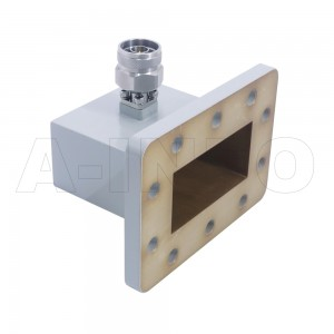 340WCANM Right Angle Rectangular Waveguide to Coaxial Adapter 2.2-3.3GHz WR340 to N Type Male