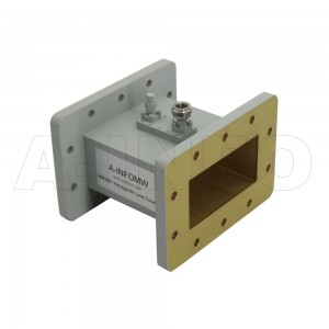 340WHCN-30 WR340 Waveguide Loop Coupler WHCx-XX Type 2.2-3.3GHz 30dB Coupling N Type Female