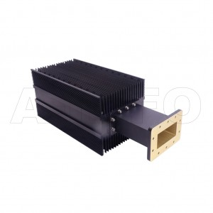 340WHPL2500 WR340 Waveguide High Power Load 2.2-3.3GHz with Rectangular Waveguide Interface