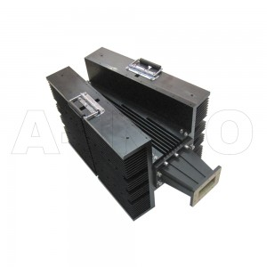 340WHPL5500 WR340 Waveguide High Power Load 2.2-3.3GHz with Rectangular Waveguide Interface