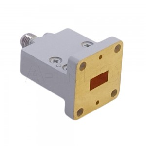 34WECAK_Cu_P0 Endlaunch Rectangular Waveguide to Coaxial Adapter 22-33GHz WR34 to 2.92mm Female