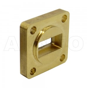 42-FBP220 WR42 Waveguide Flange 18-26.5GHz with Rectangular Waveguide Interface