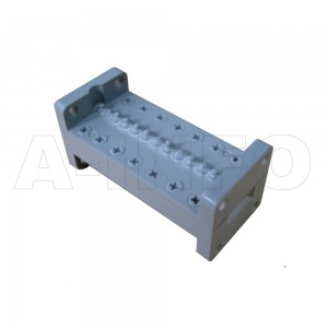 42LB-BP-25500-27000 WR42 Waveguide Band Pass Filter 18-26.5Ghz with Two Rectangular Waveguide Interfaces