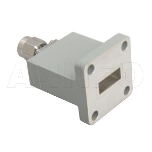 42WECASM_Cu Endlaunch Rectangular Waveguide to Coaxial Adapter 18-26.5GHz WR42 to SMA Male
