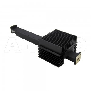 42WPFA230-40 WR42 Waveguide High Power Precision Fixed Attenuator 18-26.5GHz with Two Rectangular Waveguide Interfaces