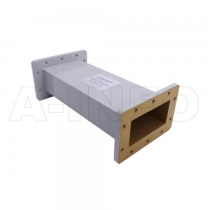 430WAL-300 WR430 Rectangular Straight Waveguide 1.7-2.6GHz with Two Rectangular Waveguide Interfaces