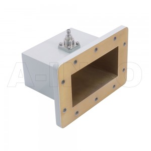 430WCAS Right Angle Rectangular Waveguide to Coaxial Adapter 1.7-2.6GHz WR430 to SMA Female