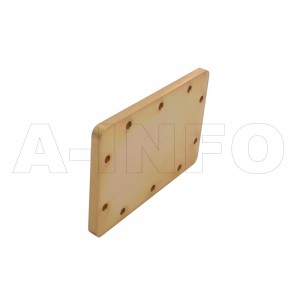 430WS WR430 Waveguide Short Plates 1.7-2.6GHz with Rectangular Waveguide Interface