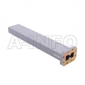 475DRWLPL WRD475 Double Ridge Waveguide Low Power Load 4.75-11GHz with Rectangular Waveguide Interface