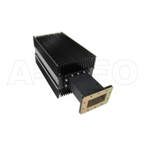 510WHPL2500 WR510 Waveguide High Power Load 1.45-2.2GHz with Rectangular Waveguide Interface
