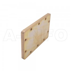 510WS WR510 Waveguide Short Plates 1.45-2.2GHz with Rectangular Waveguide Interface