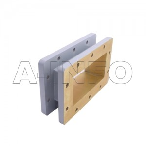 510WSPA14 WR510 Wavelength 1/4 Spacer(Shim) 1.45-2.2GHz with Rectangular Waveguide Interfaces