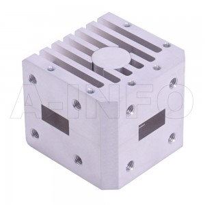 51WCIC-150220-20-100 WR51 Waveguide Circulator 15-22Ghz with Three Rectangular Waveguide Interfaces