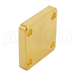 51WS_Cu WR51 Waveguide Short Plates 15-22GHz with Rectangular Waveguide Interface