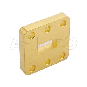 51WSPA14_Cu WR51 Wavelength 1/4 Spacer(Shim) 15-22GHz with Rectangular Waveguide Interfaces